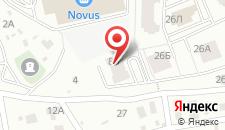 Апартаменты S&M на карте