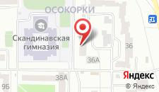 Апартаменты на Позняках на карте