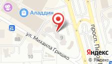 Апартаменты Poznyaky Premium Apartments на карте