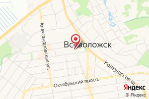 Адрес Отдел режимов газоснабжения Ленинградской области на карте