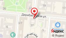 Апарт-отель Дерибас на карте