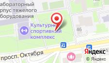 Отель Сити на карте