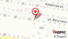 Коттедж Свояки на карте