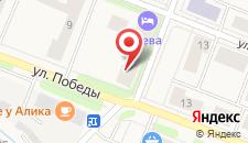 Гостиница Нева на карте