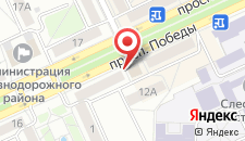 Апартаменты На проспекте Победы на карте