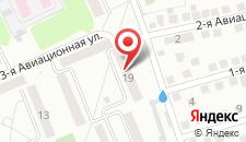 Апартаменты Impreza на Авиационной на карте
