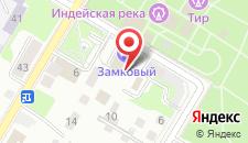 Отель Замковый на карте