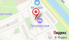 Гостиница Петровская на карте