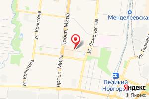 Адрес Газпром межрегионгаз Великий Новгород на карте