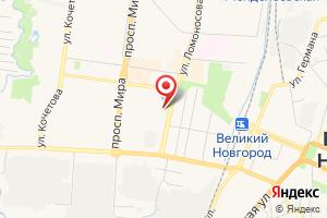 Адрес Газпром межрегионгаз Великий Новгород, территориальный участок абонентской службы г. Великий Новгород на карте