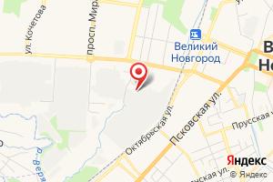 Адрес Газпром газораспределение Великий Новгород, филиал в г. Великий Новгород, отдел электрохимзащиты на карте