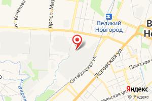 Адрес Газпром газораспределение Великий Новгород на карте