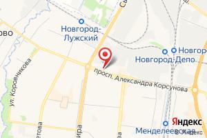 Адрес НовРегионГаз на карте
