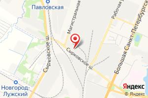 Адрес ГНС-Новгород на карте