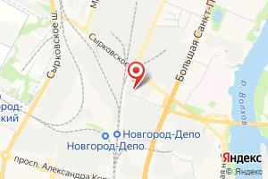 Адрес Теплострой на карте