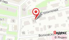 Гостевой дом Кожевники на карте