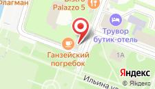 Гостиница На Дворцовой на карте