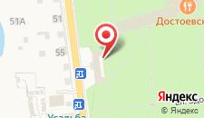 Гостиница-Курорт Старая Русса на карте
