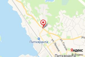 Адрес Водоканал Города Питкяранта на карте