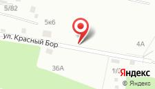 Гостиница Смена на карте