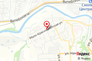 Адрес СМУП Горводоканал Городские очистные сооружения на карте
