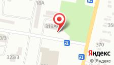 Отель Металлург на карте