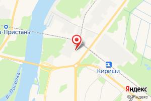 Адрес Газпром межрегионгаз Санкт-Петербург, абонентский пункт в г. Кириши на карте