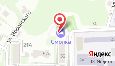 Гостиница Смолка на карте