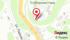 Отель Соборный Двор на карте