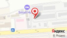 Отель Small Hotel на карте