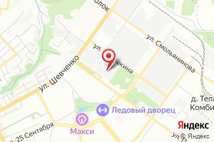 Адрес Электрическая подстанция Смоленск-1 на карте