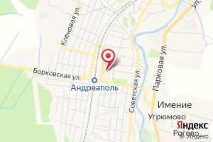 Адрес Филиал Газпром газораспределение Тверь в г. Осташкове Адреапольский газовый участок на карте