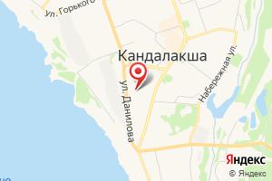 Адрес МурманОблГаз, Кандалакшский филиал на карте