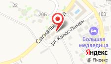 Мини-отель Сигнальная на карте