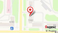 Апартаменты Ленина 7/42 на карте