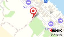 Отель Керкинитида Крабья бухта на карте