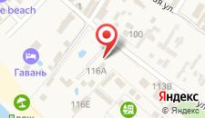 База отдыха Парус на карте