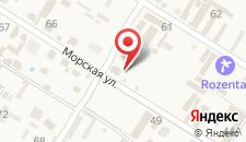 Мини-отель Морская 47 на карте