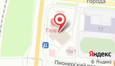 Гостиница Гларус на карте