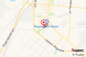 Адрес Лаборатория ГОУП Мурманскводоканал на карте