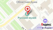 Отель Губернский на карте