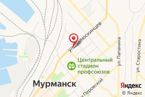 Адрес Челюскин на карте