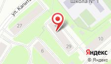 Гостиница Вечер на карте