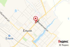 Адрес Ельнинская газовая служба Газпром газораспределение Смоленск на карте