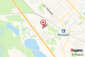 Адрес Газпром газораспределение Великий Новгород, филиал в г. Валдай на карте