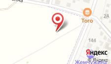 Гостевой дом Светлана на карте