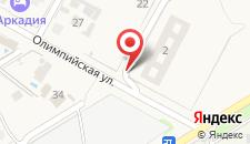 Гостевой дом Альмена на карте