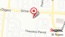 Отель Hilton Park Nicosia на карте