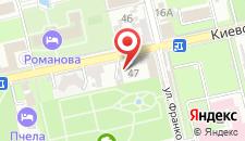 Гостиница Реаль на карте