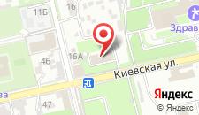 Пансионат Астра-центр на карте